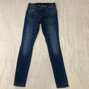 Aritzia The Castings Distressed Skinny Jeans